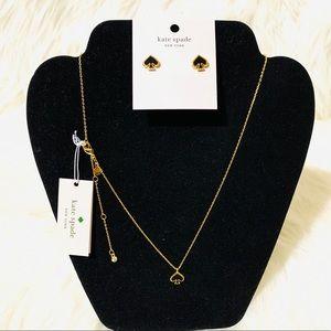 Kate Spade Earrings & Necklace Set